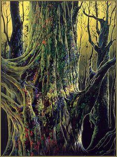 Eyvind Earle: Ancient Tree