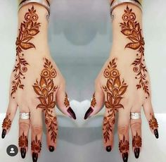 Latest Amazing Mehndi Designs For Parties Hello Guys! here you will see Latest Mehndi Designs with Amazing Patterns for your Hands and. Henna Hand Designs, Eid Mehndi Designs, Mehndi Designs Finger, Traditional Mehndi Designs, Khafif Mehndi Design, Latest Arabic Mehndi Designs, Stylish Mehndi Designs, Mehndi Designs For Fingers, Beautiful Mehndi Design