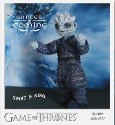 #amigurumi Game of Thrones Night´s King