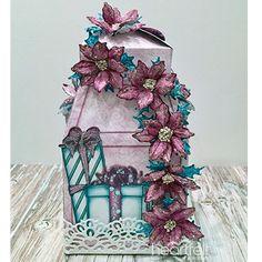 Celebrate The Season Gift Box made w/ Heartfelt Love collection from #HeartfeltCreations