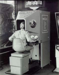 Morton Heilig - Sensorama Machine : Morton's most famous invention and the reason he has been touted as the Father of Virtual Reality. The Sensorama Machine was invented in 1957 and patented in 1962 / http://www.mortonheilig.com