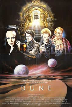 "MP057. ""Dune"" American Movie Poster by Renato Casaro (David Lynch 1984) / #Movieposter"