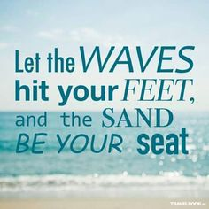. Therapy, Waves, Let It Be, My Love, Beach, Quotes, Signs, Quotations, The Beach
