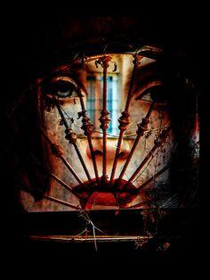 'Behind the old window' von Gabi Hampe bei artflakes.com als Poster oder Kunstdruck $23.56
