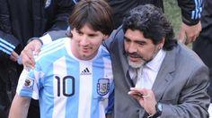 Maradona habló de Messi
