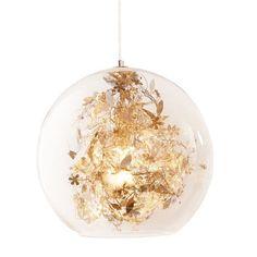 Deckenleuchte St. Barth, Metall Und Glas Vorderansicht Deckenlampe  Kinderzimmer, Wohnzimmer, Glaskugel Lampe