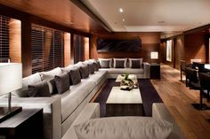 Image result for yacht interior salon
