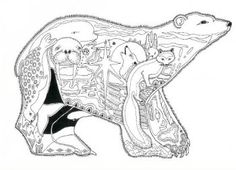 """Bear Adult Coloring Pages Awesome Week 2 """"winter Animals theme"""" Coloring Page for Activity Bear Coloring Pages, Printable Coloring Pages, Adult Coloring Pages, Coloring Books, Colorful Drawings, Colorful Pictures, Polar Bear, Pet Birds, Alaska"""