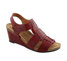 690475a3b13e6e New Taos Women s Tradition Leather Sandal online   160.00  from top store  topbrandsclothing Wedge Sandals