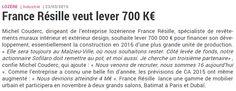 Une brève à propos de France Résille dans la lettre M #Eco #Lozère