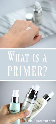 What is a PRIMER? ☆ Was ist ein Primer. Wie trägt man ihn auf und wofür braucht man einen Primer unter der Foundation. Make Up Tipps für dich und ein strahlendes Aussehen.