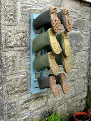 Wellington boot rack - click for bigger picture