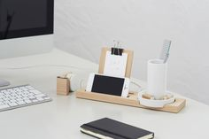 6   Beautiful Desktop Trays To Corral Your Office Tools   Co.Design: business + innovation + design