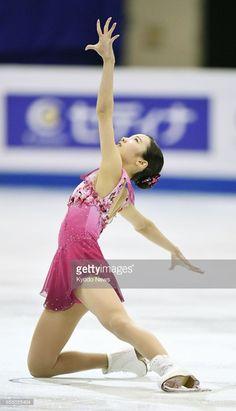 ニュース写真 : Japan's Marin Honda performs during the junior...