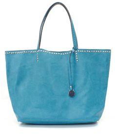 Tobi Tote Bag in Blue