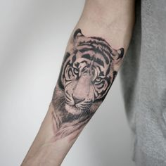 Fierce Tiger Tattoos Make You Brave Part 3