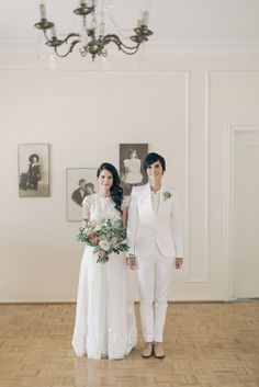 Wedding Dress: BHLDN - http://www.stylemepretty.com/portfolio/bhldn Photography: Gather West Photography - http://www.stylemepretty.com/portfolio/gather-west-photography Read More on SMP: http://www.stylemepretty.com/california-weddings/2014/12/19/rustic-summer-wedding-at-orcutt-ranch/