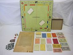 RARE VINTAGE CHARLES DARROW 1934 1ST EDITION MONOPOLY PRE PARKER BROTHERS (11/15/2014)