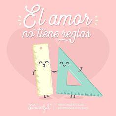 ¡Entre nosotros lo tenemos muy claro! #mrwonderfulshop #felizsábado  Love has no rules. At least not for me and you!