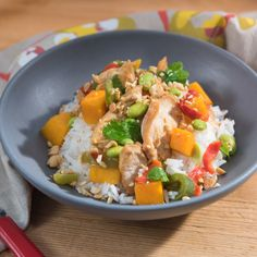 Spicy Chicken Stir-Fry from Food Network