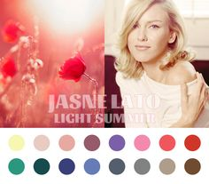 Light Summer color palette #coloranalysis
