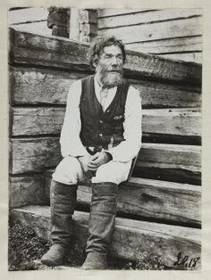 Miihkali Vornanen 1908, kuva Samuli Paulaharju