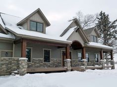 Homes With Metal Siding And Stone Accenct Of You