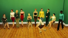 DECO WOMAN SIMS at Leo Sims • Sims 4 Updates
