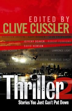 """""""Thriller No. 2"""" av KATHLEEN ANTRIM  'A Book recommended by an Author you love' Clive Cussler"""