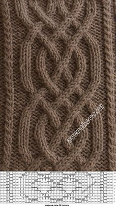 strickmuster You are in the right place about knitting techniques hacks Here we offer you the most beautiful pictures about the knitting techniques articles you are looking for. Cable Knitting Patterns, Knitting Stiches, Knitting Charts, Easy Knitting, Knitting Designs, Knitting Needles, Knit Patterns, Knitting Projects, Stitch Patterns