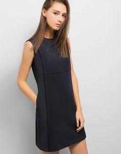 Fourth Street Dress - SaturdayClub Work Wardrobe, Stretch Fabric, High Neck Dress, Street, Model, How To Wear, Dresses, Fashion, Vestidos