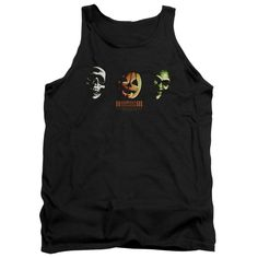 Halloween Iii - Three Masks Adult Tank Shirt