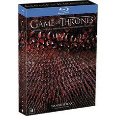 Americanas Blu-ray Coleção Game Of Thrones: A Primeira, Segunda, Terceira e Quarta Temporadas ==> R$ 125,96