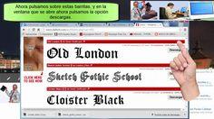 Como se hace para descargar fuentes o letras nuevas para Microsoft Word | Fácil #GanarDineroExtra