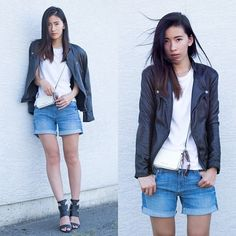 Viparo Jacket, 7 For All Mankind Shorts, Le Chateau Sandals, Marc By Marc Jacobs Sunglasses