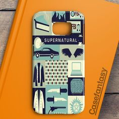 Supernatural Cartoon Samsung Galaxy S6 Edge Plus Case | casefantasy