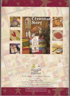 A Christmas Story - Sabrina Cárcamo - Picasa Web Albums Maria Jose, Applique Fabric, Embroidery Applique, Hatch Patch, Annie Downs, Fabric Crafts, Paper Crafts, Picasa Web Albums, Textiles