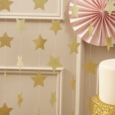 déco anniversaire pastel rose et or birthday deco pink and gold