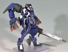 HG 1/144 Gundam Gusion Full City - Customized Build     Modeled by 夢茶                                                                                                                                                                                 More