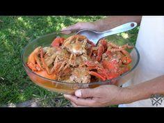 Recette des Crabes au lait de Coco, Île Sainte Marie, Madagascar