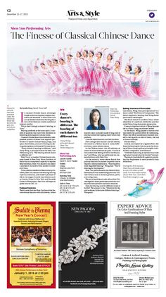 Shen Yun Showcases Finesse of Classical Chinese Dance Epoch Times  #ShenYun #Traditional #Dance #newspaper #editorialdesign
