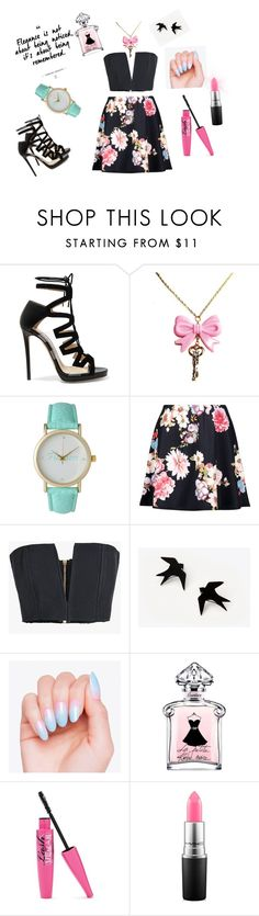"""Elegance"" by designer-ebru ❤ liked on Polyvore featuring Jimmy Choo, Olivia Pratt, Balmain and MAC Cosmetics"