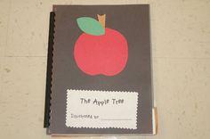 cute apple tree books the children make