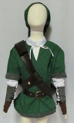 Legend of Zelda Link Skyward Sword Cosplay Costume by AGypsyRed, $150.00