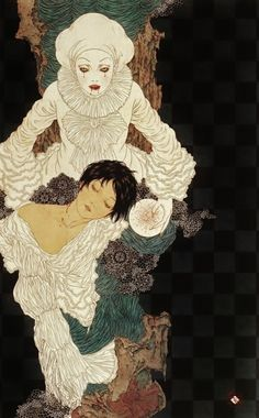 Takato Yamamoto vampire clown fine art