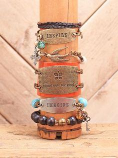 Assorted Lenny & Eva bracelets and charms at altardstate.com