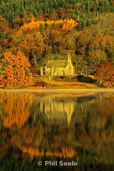 Trossachs Church, Stirling, Scotland - Phil Seale Photography