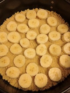 banaan op taart