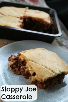 Sloppy Joe Casserole | How to be awesome on $20 a day