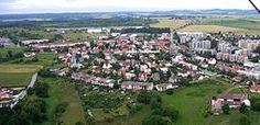 Tábor-místní část Klokoty (také vpravo vzadu za západní částí Pražského sídliště)-Rudolf Kukačka